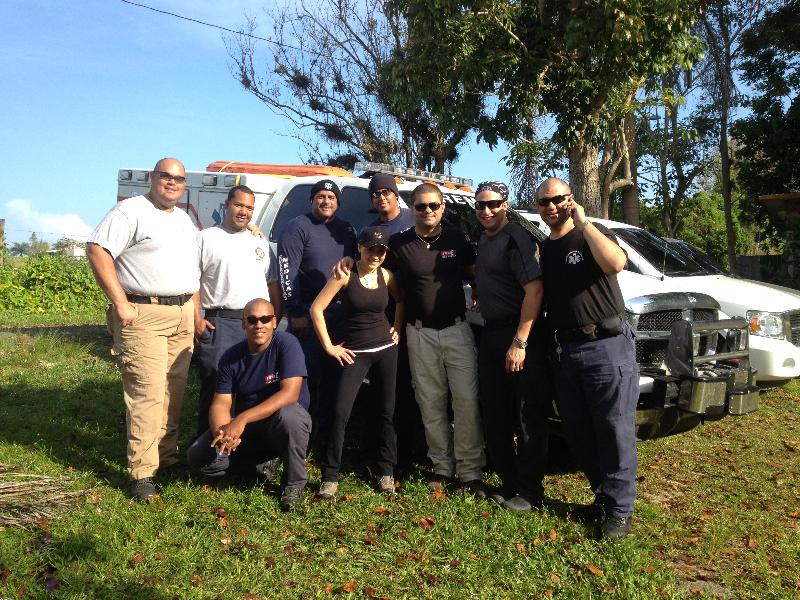 FREMS participa de entrenamiento en rescate en cuevas