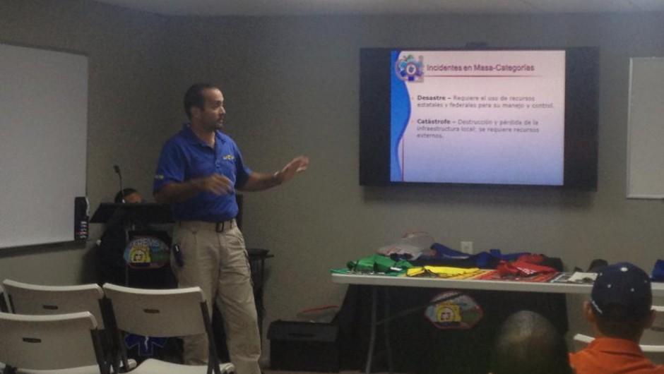 Conferencia sobre Triage por el Sr. Javier Díaz